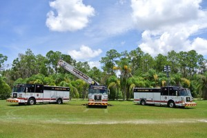 Estero Fire Rescue Trucks