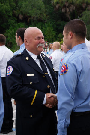 Retirement of First Firefighter