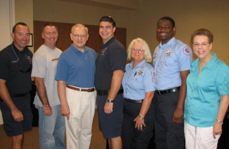 Estero Fire Rescue Thanked by Residents