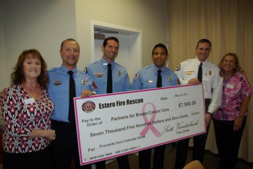 Estero Fire Rescue Gives Back