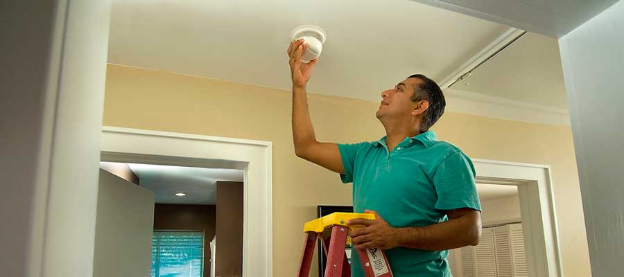 Change Smoke Alarms Batteries