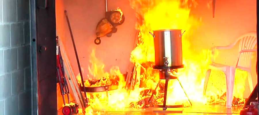 Safe Use of Turkey Fryers