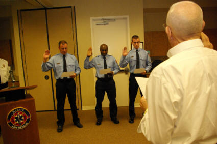 Estero Fire Rescue Introduces New Firefighters