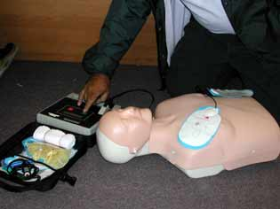 AED: Automated External Defibrilation